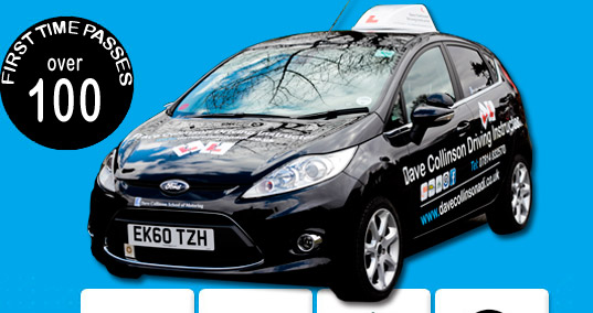 Car used by Dave Collinson ADI Hull Driving Instructor